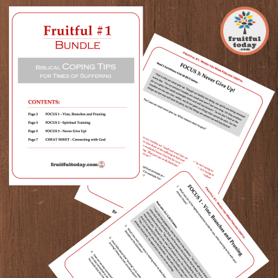 Preview of Fruitful #1 printable free resource Bundle.