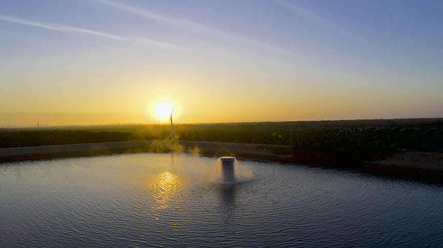 FGS irrigation pump