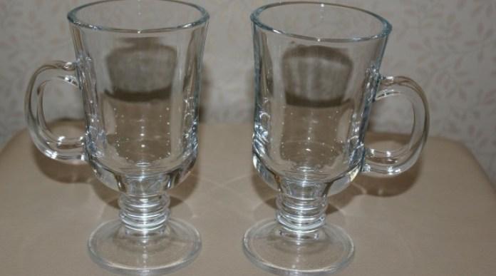 Бокалы для глинтвейна из толстого стекла