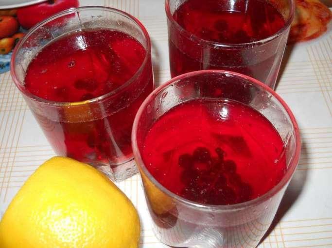 Самый распространенный рецепт из черноплодной рябины - это отвар из ягод
