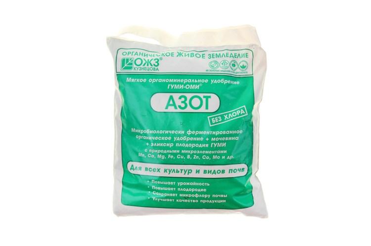 Упаковка азотного удобрения