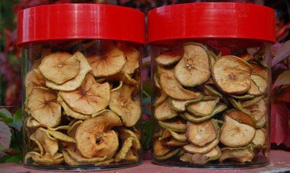 Хранение сушеных груш