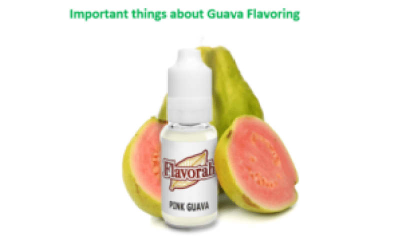 Important things about Guava Flavoring