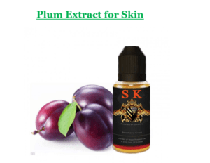 Plum Extract for Skin