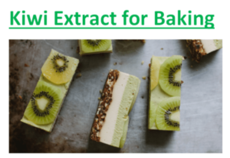 Kiwi Extract for Baking