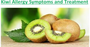 Kiwi Allergy Symptoms and Treatment