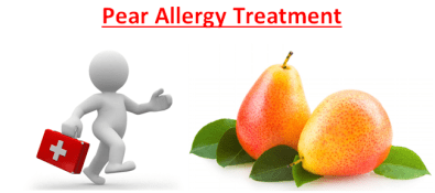 Pear Allergy Treatment