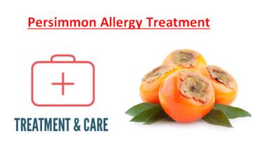Persimmon Allergy Treatment