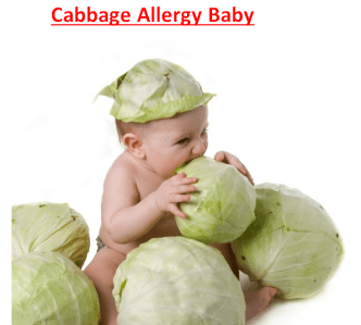 Cabbage Allergy Baby