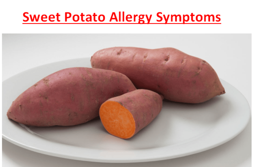 Sweet Potato Allergy Symptoms