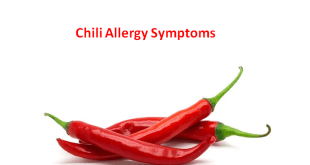Chili Allergy Symptoms