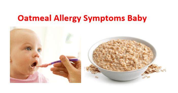 Oatmeal Allergy Symptoms Baby