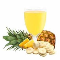 Banana pineapple Juice