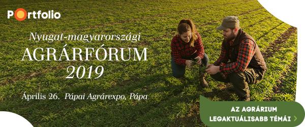 Nyugat-magyarországi Agrárfórum: konferencia a Pápai Agrárexpón