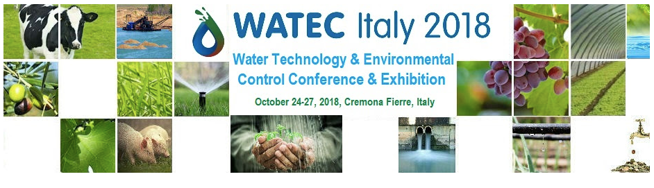 WATEC ITALY 2018 – WATER TECHNOLOGIES AND MORE