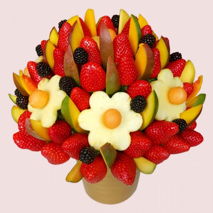 Fruit Gift Basket Edible Bouquet