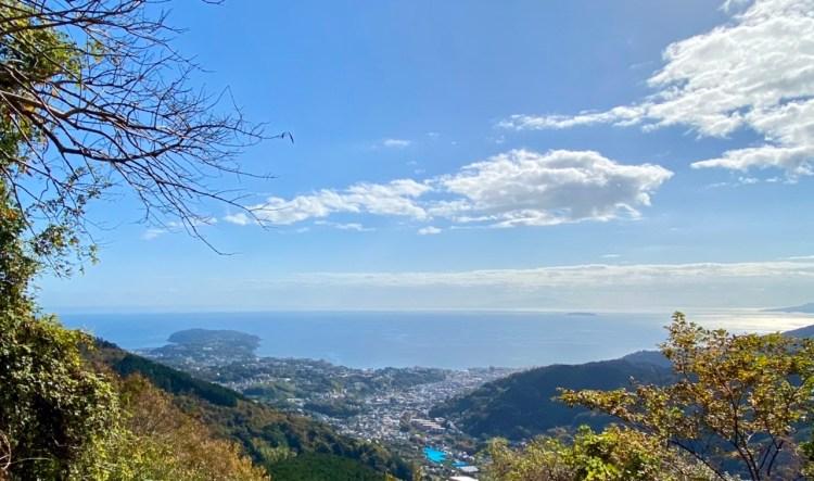 幕山から 真鶴半島