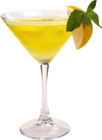 image of lemon and ginger cocktail madfe with fruity tipples premium cocktail liqueurs