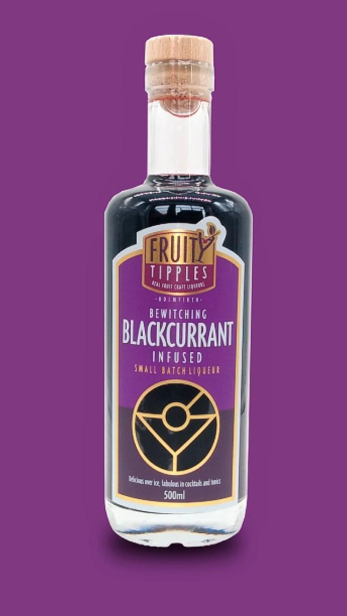 Blackcurrant colour background enhanced