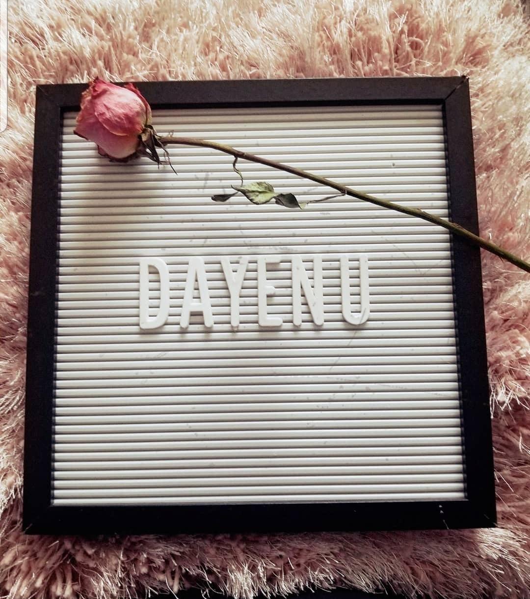 Dayenu?