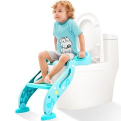 Potty Chair For Girls Dining Store Kidpar Training Seat Kids Adjustable Toddler Toilet With Sturdy Non Slip Step Stool Ladder Comfortable Handles And Splash Guard