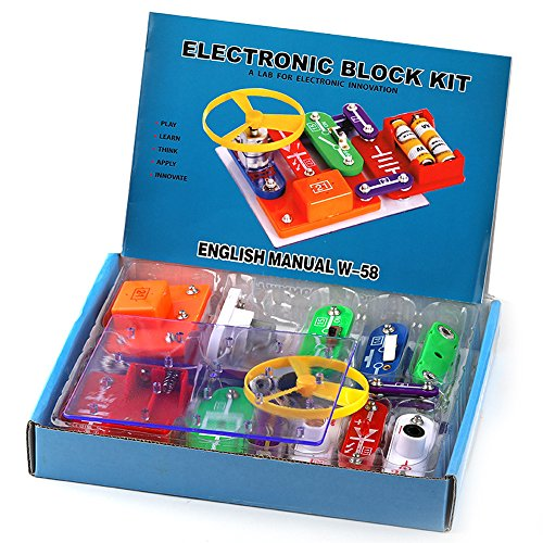 Elenco Snap Circuits Pro Sc500 Electronics Discovery Kit Science