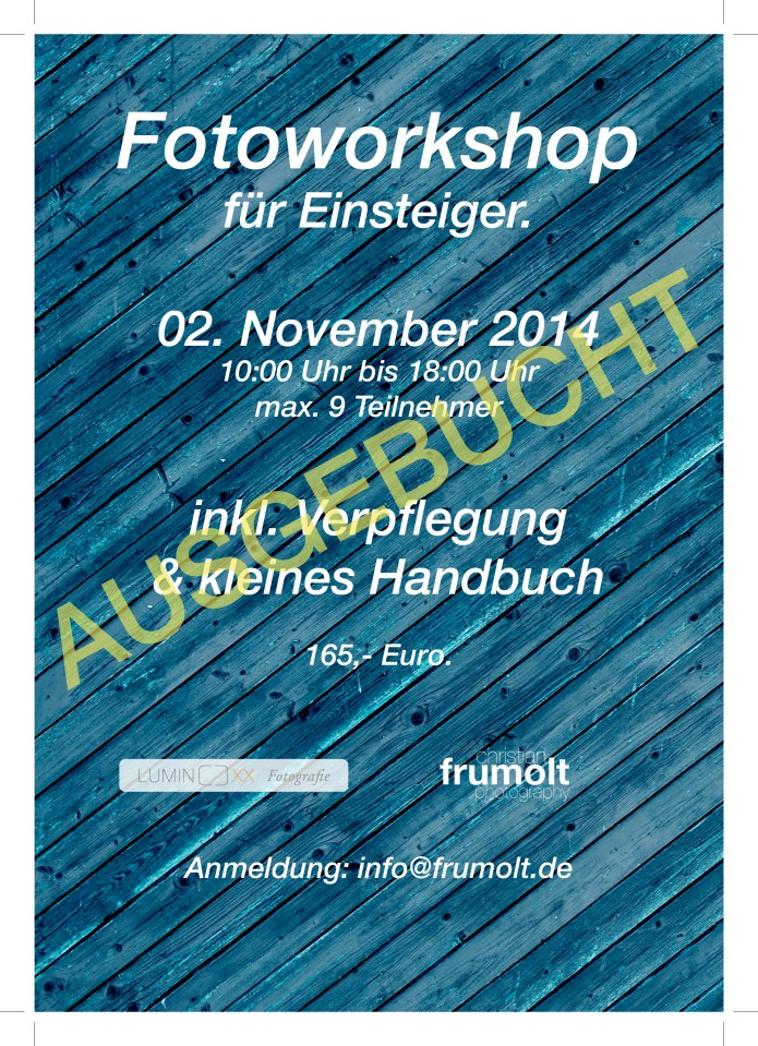 workshop 02 nov 2014ausgebucht