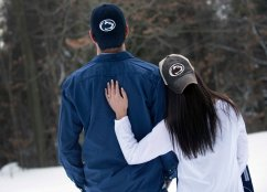 engagement portraits who those who love penn state