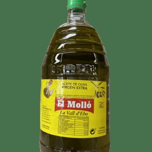 ACEITE OLIVA VIRGEN EXTRA EL MOLLÓ 2L