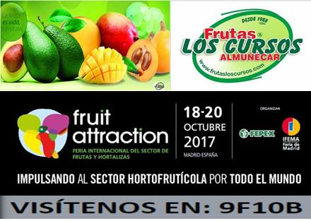 Frutas Los Cursos en Fruit Attraction