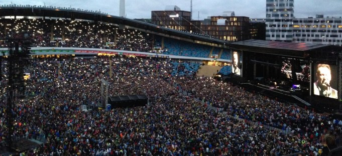 Concert - Springsteen! Kept it going for more than 3 1/2 hours. Say no more
