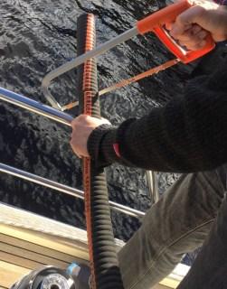 Adapting the turbo hose