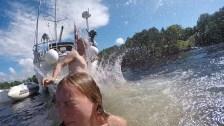 Bathing in korterødkilen