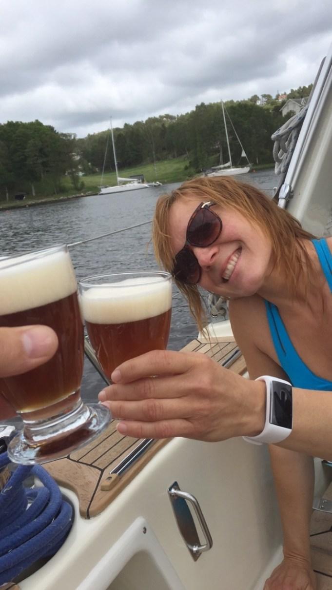 Homebrew beer - floke ale