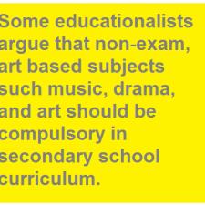art based subject compulsory education ielts
