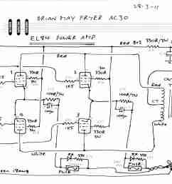 ac30bm schematic el84 power amp jpg [ 3508 x 2532 Pixel ]