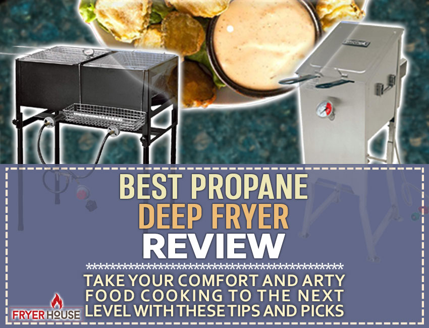 kitchener triple basket deep fryer cast iron kitchen sink 5 best propane fryers review get the right model for you