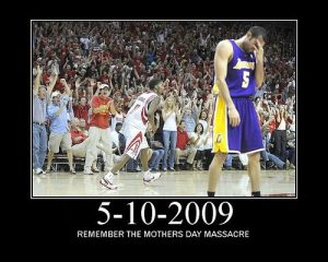 Lakers Rockets 2009
