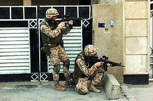 Estonian Staff Sgt. Sigmar Zelinski and Cpl. E...