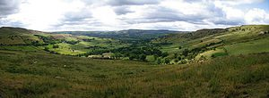 Panorama of the Peak District
