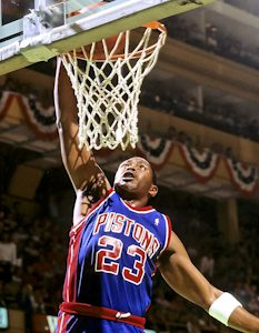Detroit Pistons Mark Aguirre NBA Playoffs