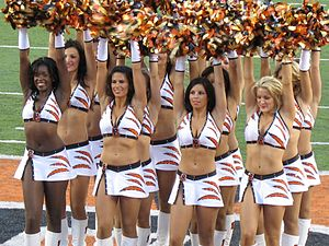Bengals Cheerleaders.