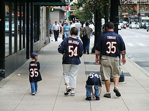 NFL-Chicago-Bears-Family