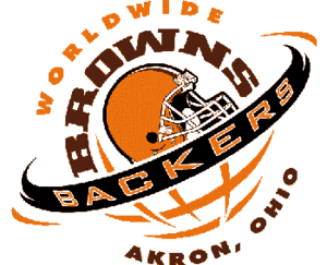 The logo of the Browns Backers Worldwide.