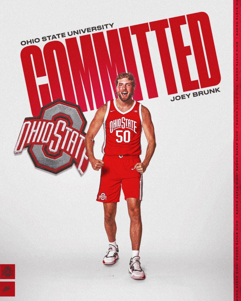 Joey Brunk commits to Ohio State