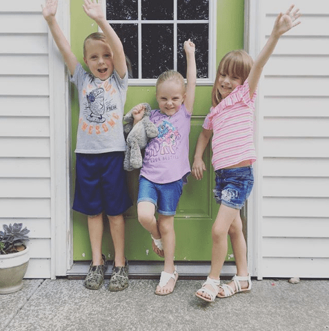Kindergarten triplets