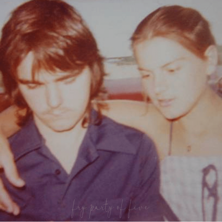 mom and dad 1977