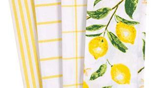 KAF Home Pantry Lemons All Over Kitchen Dish Towel Set