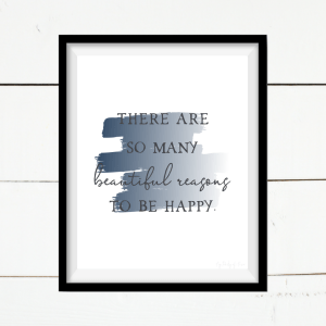 Happiness printable