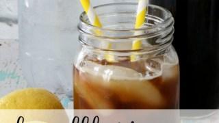 Lemon Cold Brew Tonic Recipe